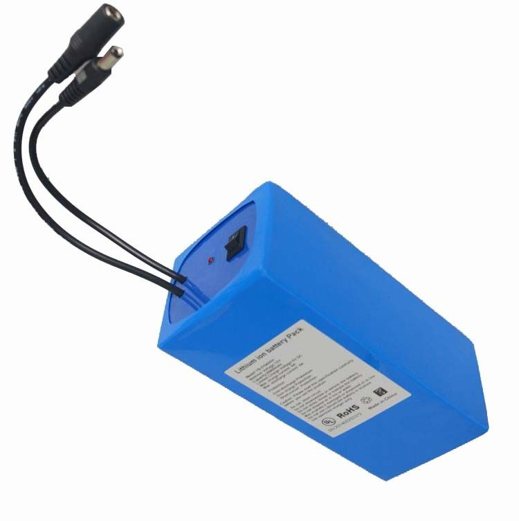 12v Lithium Ion 8000mah Solar Rechargeable Battery High Performance